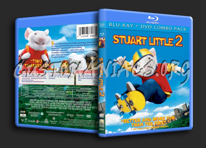 Stuart Little 2 Blu Ray Cover Dvd Covers Labels By Customaniacs Id 142273 Free Download Highres Blu Ray Cover