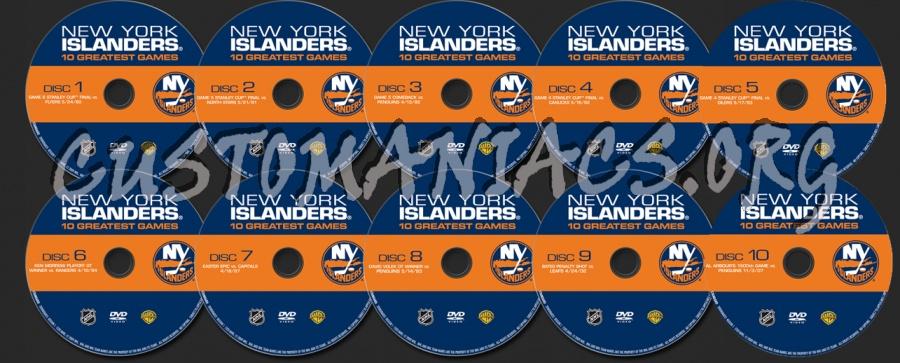 New York Islanders  Greatest Games Dvd