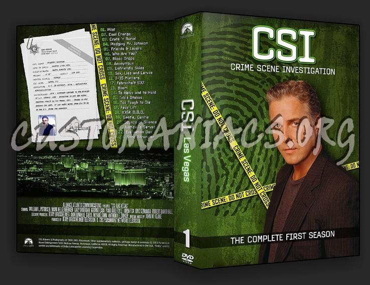 CSI Las Vegas Season 1-10 dvd cover
