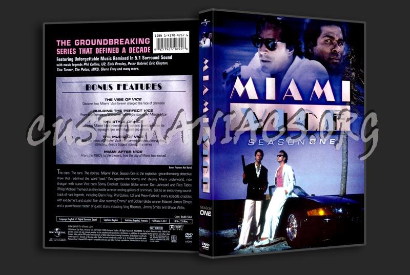 Miami Vice Season 1 dvd cover