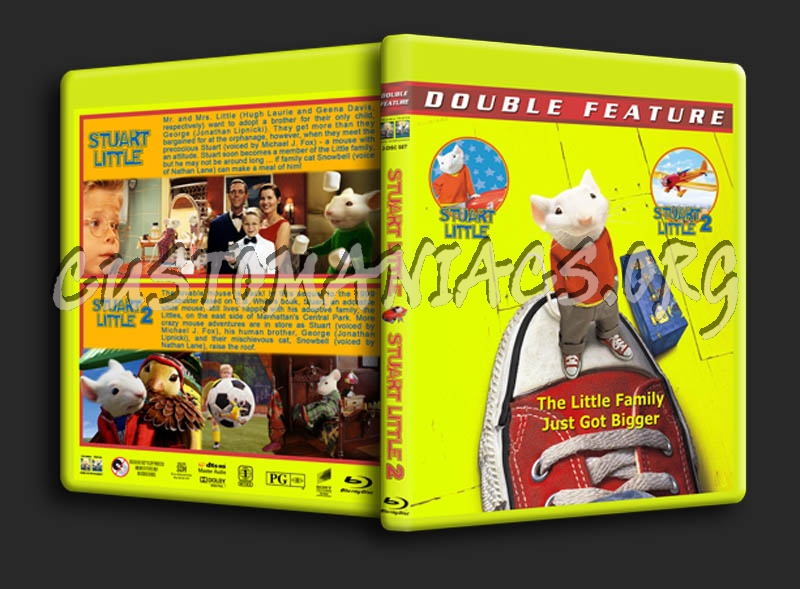 Stuart Little Double Feature Blu Ray Cover Dvd Covers Labels By Customaniacs Id 142391 Free Download Highres Blu Ray Cover