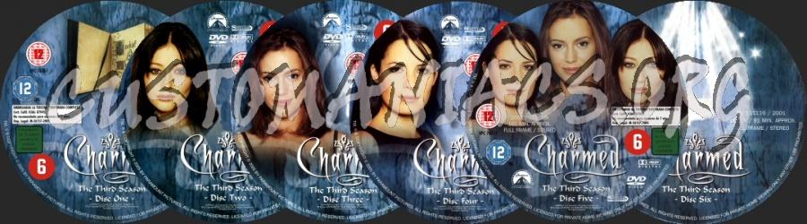 Charmed - Season 3 dvd label