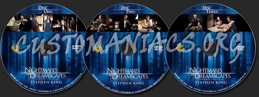 Nightmares & Dreamscapes dvd label