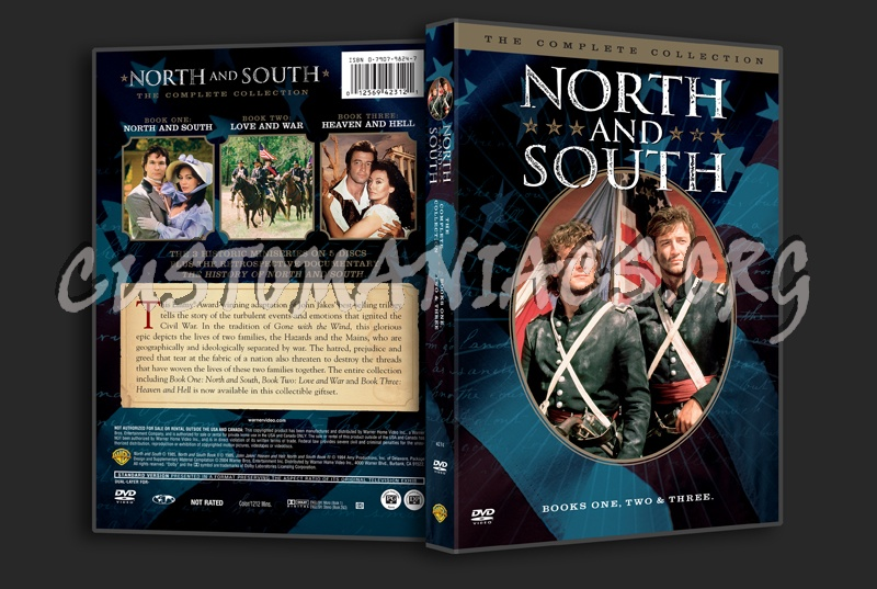 North and South The Complete Collection dvd cover