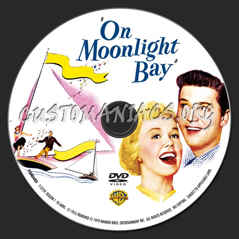 On Moonlight Bay dvd label