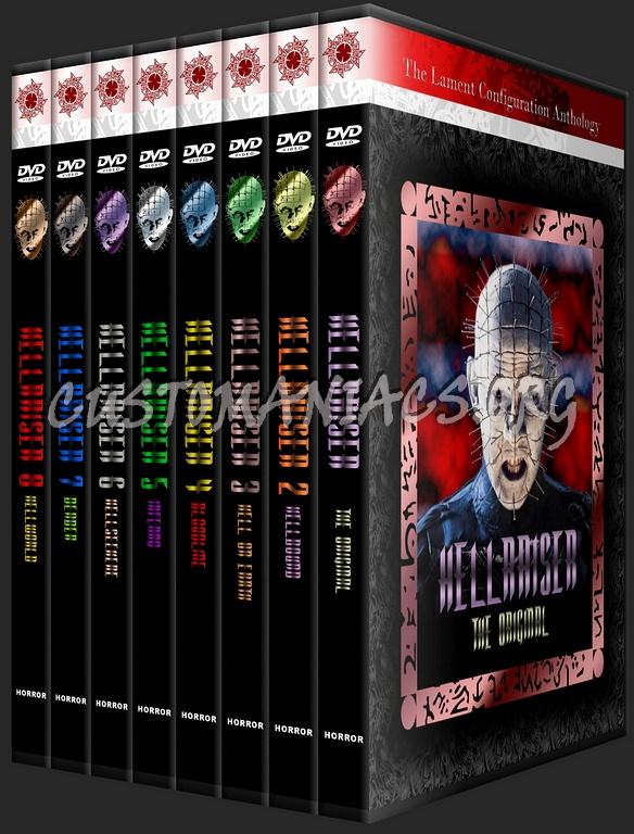 hellraiser collection 1 - 8 dvd cover