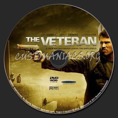 The Veteran dvd label