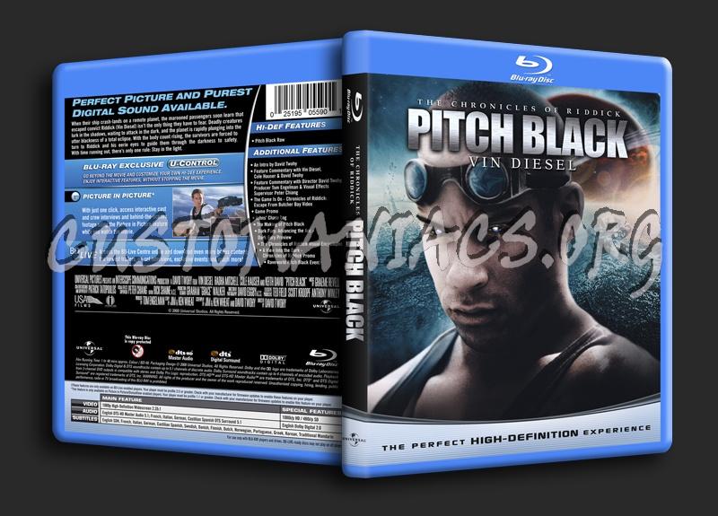 Pitch Black blu-ray cover