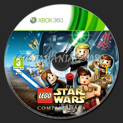 LEGO Star Wars: The Complete Saga dvd label - DVD Covers & Labels by ...