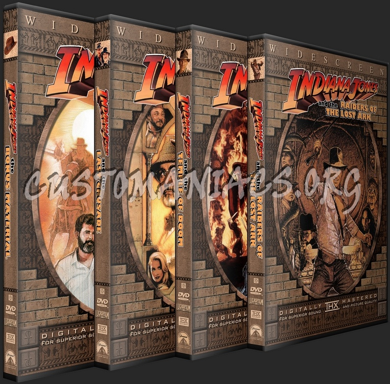 Indiana Jones: The Complete Movie Collection dvd cover
