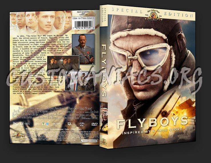Flyboys dvd cover