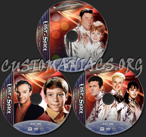 Lost In Space - TV Collection dvd label