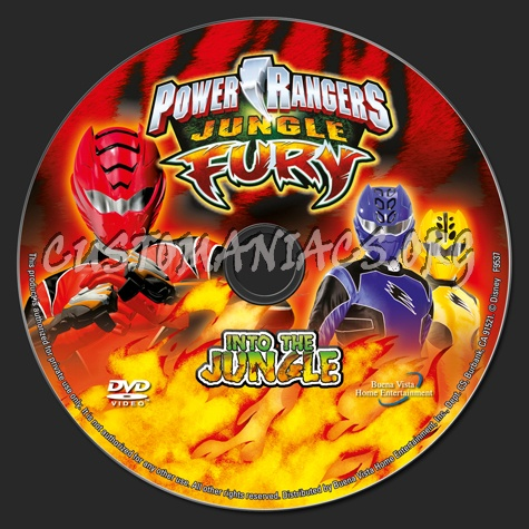 Power rangers jungle fury into the jungle dvd label dvd covers power rangers jungle fury into the jungle dvd label voltagebd Image collections