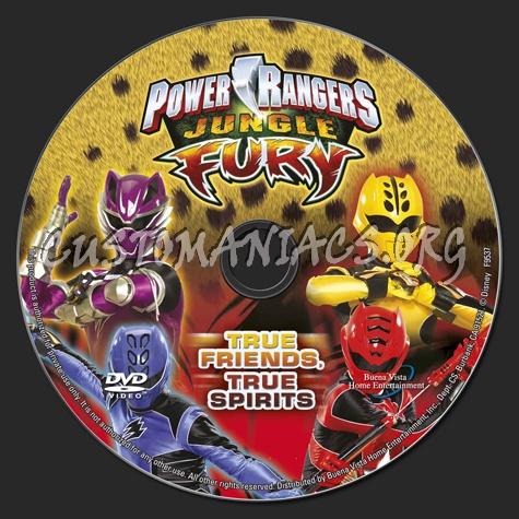 Power rangers jungle fury true friends true spirits dvd label power rangers jungle fury true friends true spirits dvd label voltagebd Image collections