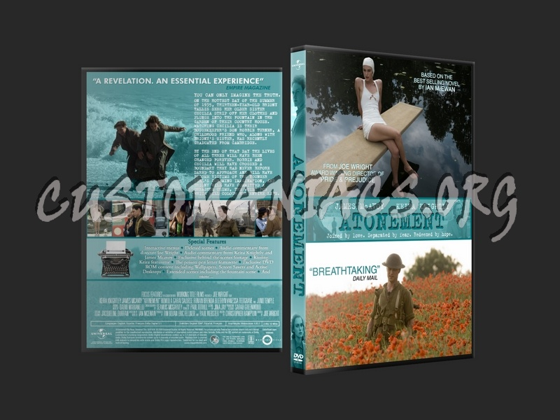 Atonement dvd cover