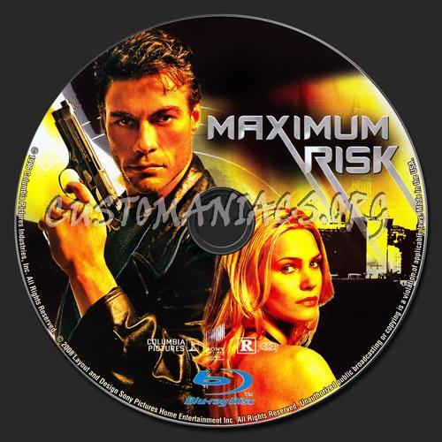 Maximum Risk blu-ray label