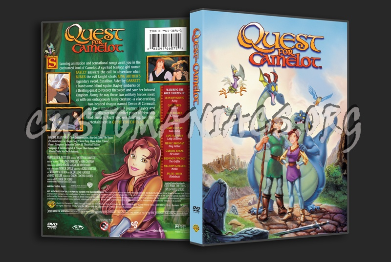Quest for Camelot dvd cover