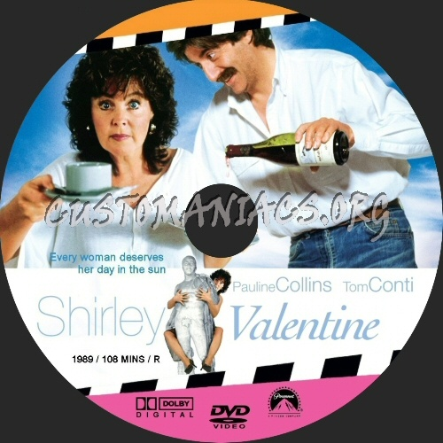 shirley valentine dvd label dvd covers amp labels by