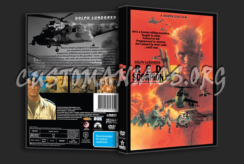 Red Scorpion dvd cover