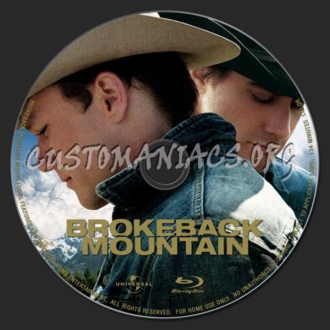 Brokeback Mountain blu-ray label