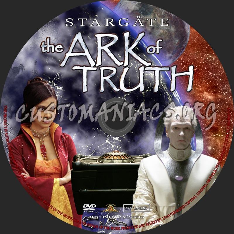 Stargate - The Ark Of Truth dvd label
