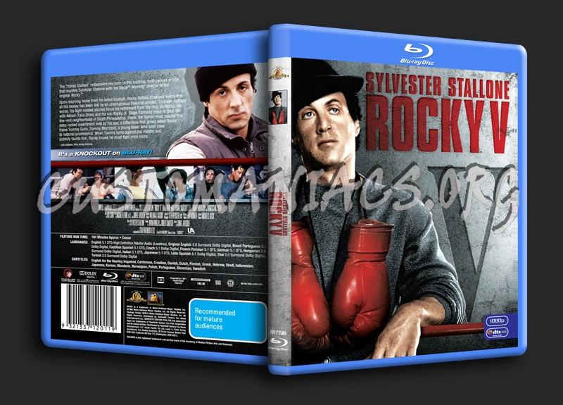 Rocky V blu-ray cover