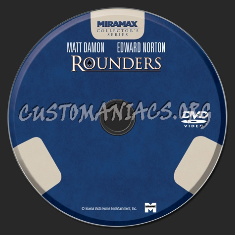 Rounders dvd label