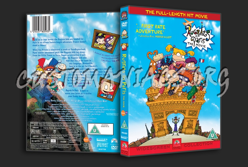 Rugrats in Paris Dvd Rugrats in Paris The Movie Dvd