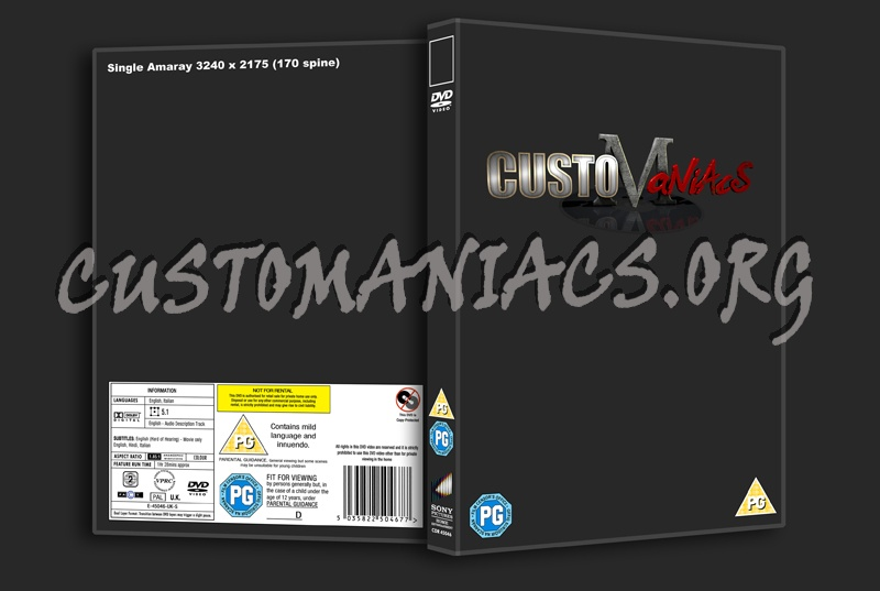 Sony dvd label