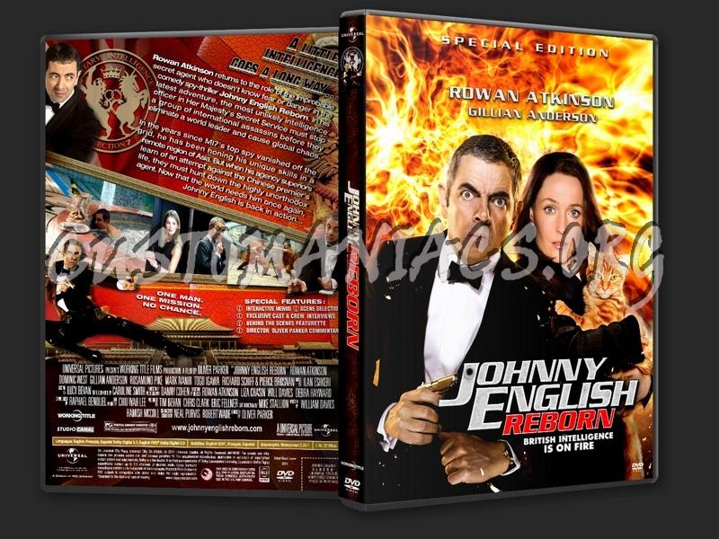 Johnny English Reborn dvd cover
