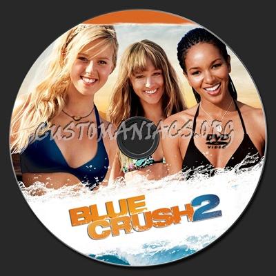 Blue Crush 2 dvd label