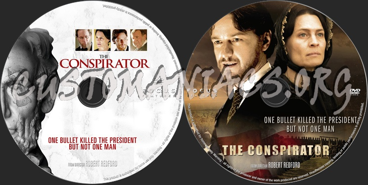 The Conspirator dvd label