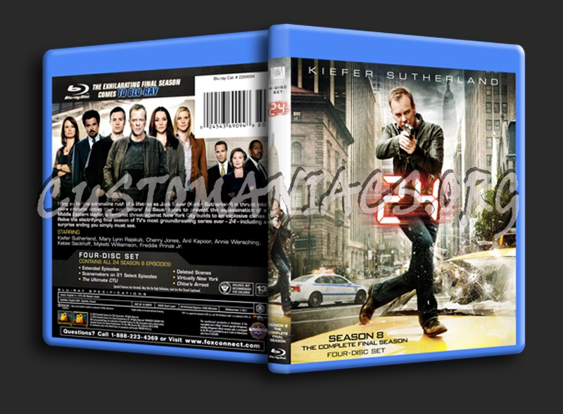 24 Season 8 blu-ray cover