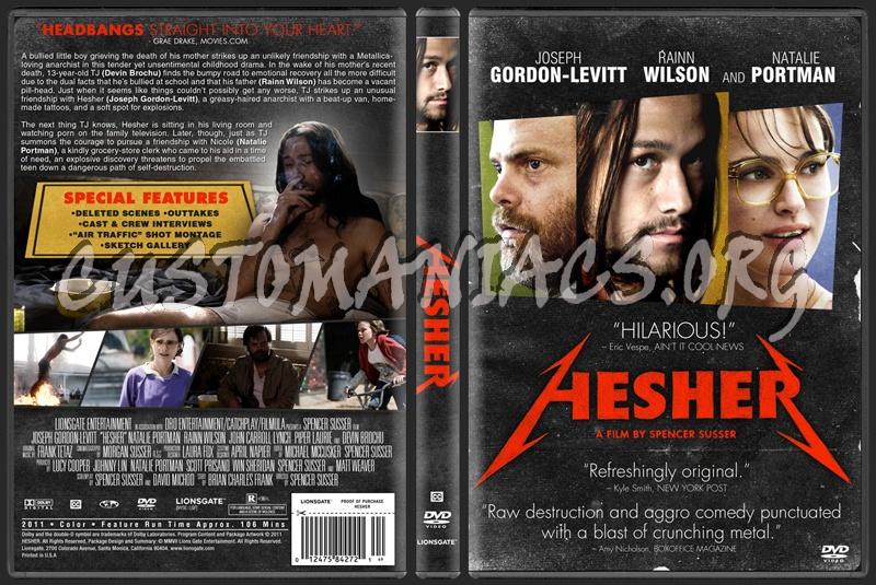 Hesher dvd cover