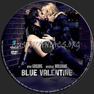 Blue Valentine dvd label