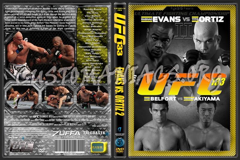 UFC 133 Evans vs. Ortiz 2 dvd cover