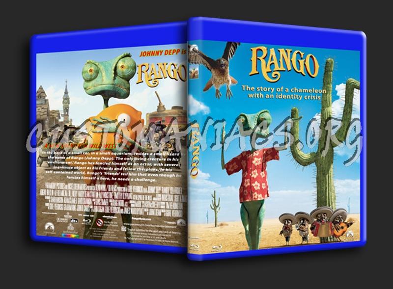 Rango blu-ray cover