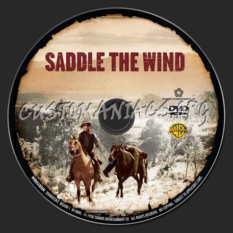 Saddle the Wind dvd label