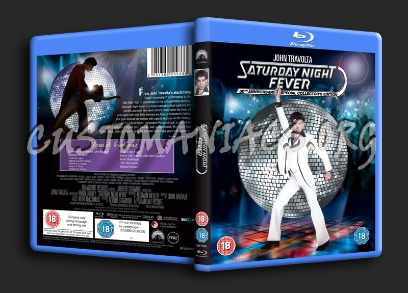 Saturday Night Fever blu-ray cover