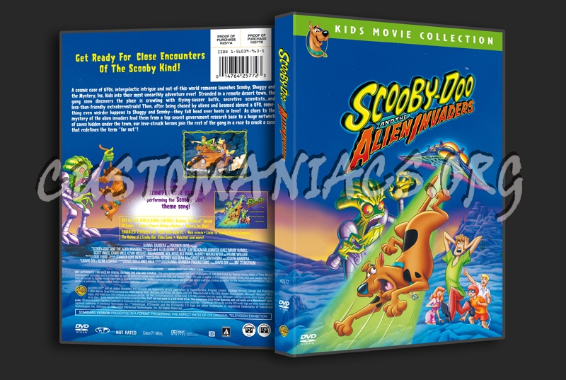 Scooby-Doo and the Alien Invaders dvd cover - DVD Covers   Labels by ... 74cb97ecb