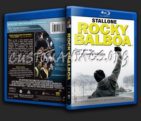Rocky Balboa blu-ray cover