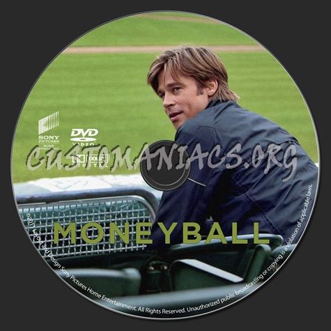 Moneyball dvd label