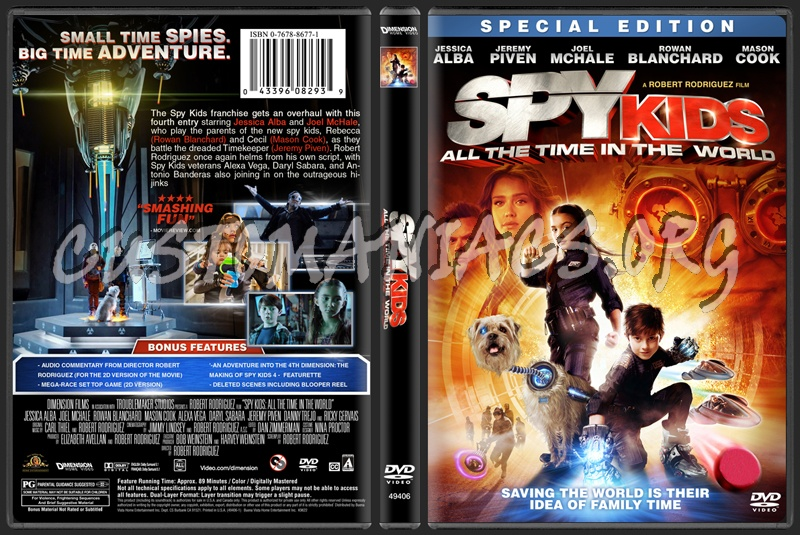 watch spy kids all the time in the world in 4d online