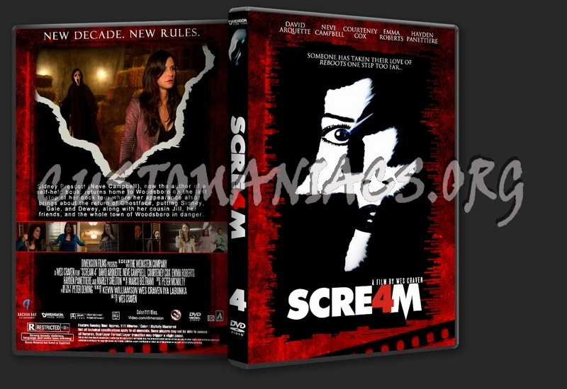 Scream Collection dvd cover