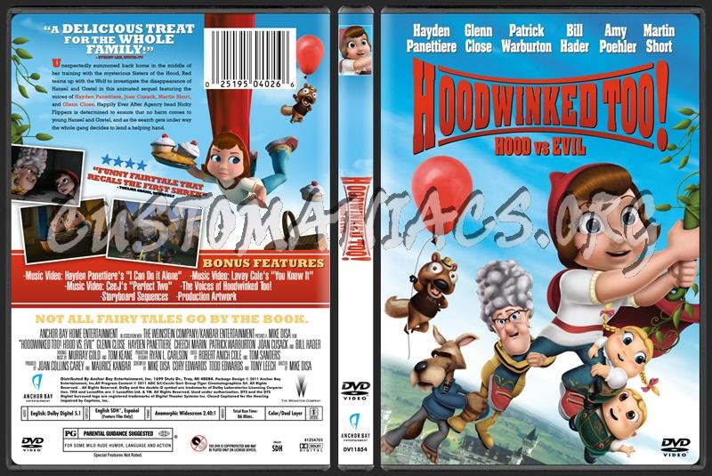 Hoodwinked Too! Hood VS. Evil dvd cover