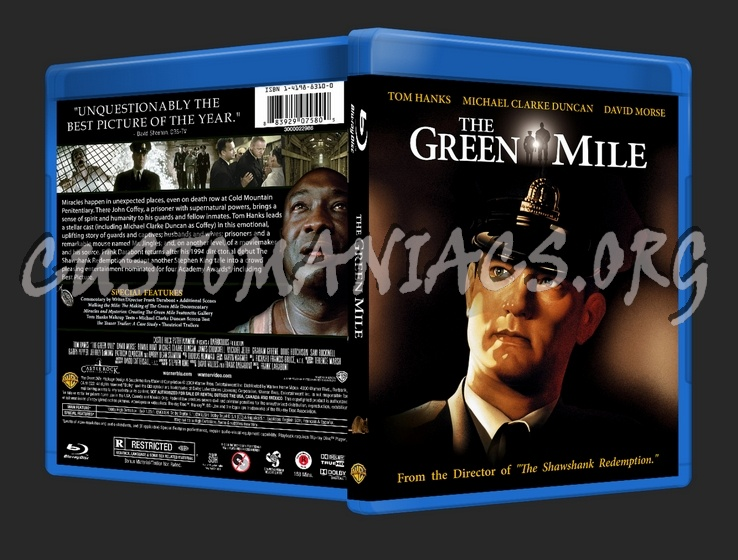 Green Mile Dvd Cover The Green Mile Blu-ray Cover