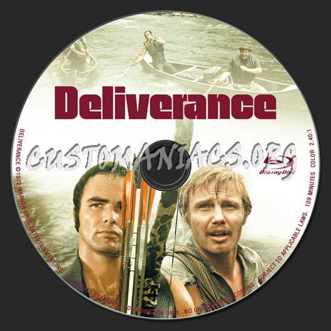 Deliverance blu-ray label