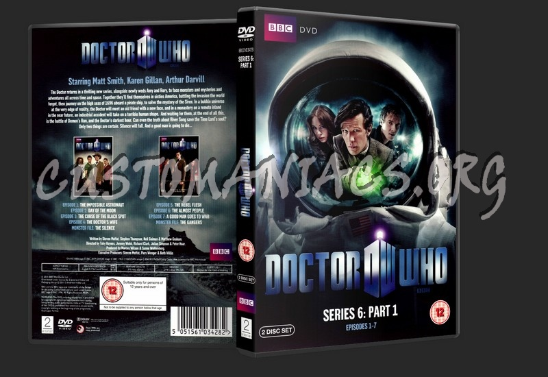 Doctor Who: Series 6 - Part 1 dvd cover