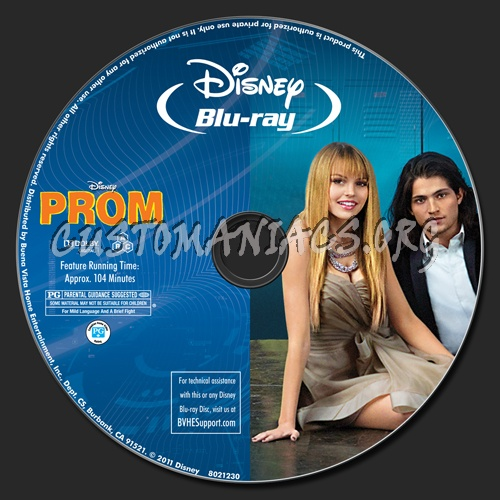 Prom blu-ray label