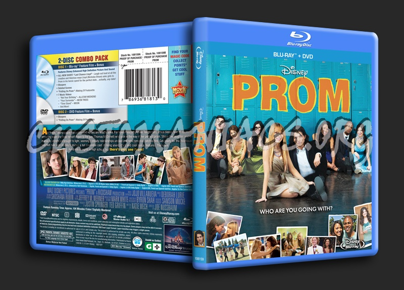 Prom blu-ray cover